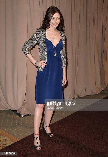 Michelle Trachtenberg during Diamond Information Center and InStyle Host 6th Annual Awards Season Diamond Fashion Show Preview Arrivals at Beverly...