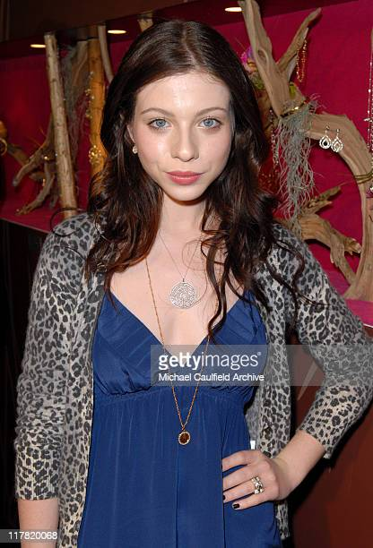 Michelle Trachtenberg during Diamond Information Center and InStyle Host 6th Annual Awards Season Diamond Fashion Show Preview at Beverly Hills Hotel...