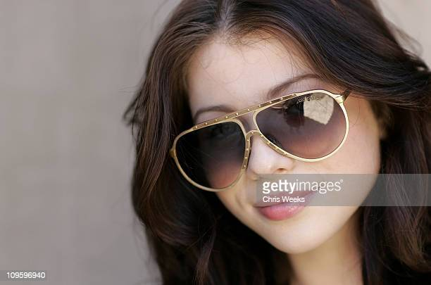 Michelle Trachtenberg during DKNY Jeans and Motorola Host Private Desert Oasis During the 2006 Coachella Music Festival Day Two at Private Residence...
