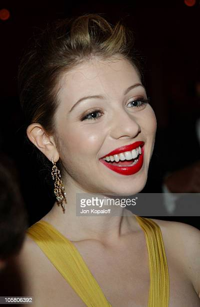 Michelle Trachtenberg during Eurotrip Los Angeles Premiere After Party at Roosevelt Hotel in Hollywood California United States