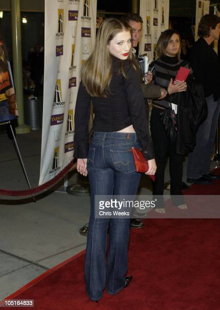 Michelle Trachtenberg during Hollywood Film Festival Presents a Screening of 'The Singing Detective' at Arclight Cinemas in Hollywood California...