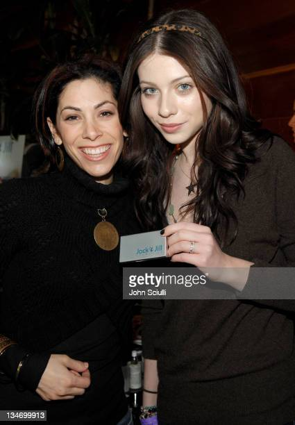 Michelle Trachtenberg during Kari Feinstein's Style Lounge Presented by Budweiser Select Day 2 at Private Residence in Los Angeles California United...