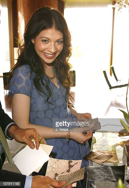 Michelle Trachtenberg during Kelly Lynch and Lisa Love Host a Lunch in Honor of James Ferragamo at Private Home in Los Angeles California United...