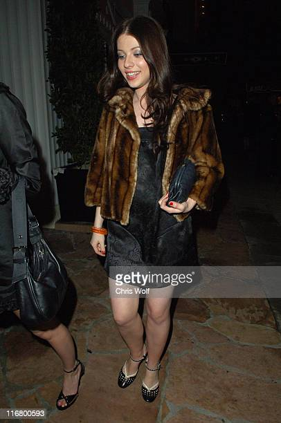 Michelle Trachtenberg during Michelle Trachtenberg Sighting at Il Sole March 20 2007 at Il Sole in West Hollywood California United States