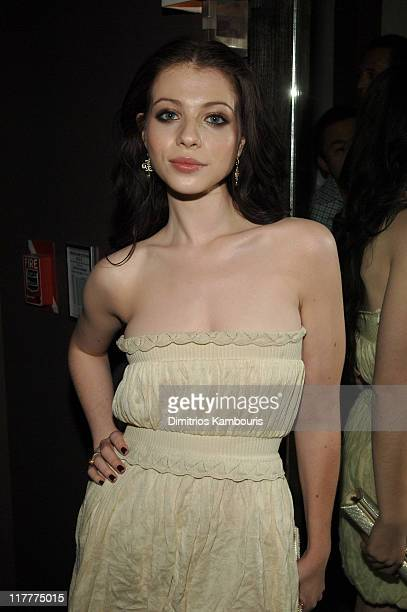 Michelle Trachtenberg during Olympus Fashion Week Spring 2007 Rock Republic After Party at Tenjune in New York City New York United States
