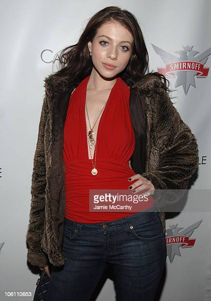 Michelle Trachtenberg during Smirnoff Vodka Casino Royal and DJ AM Host 'Shaken and Stirred' DJ Contest at Tenjune in New York City New York United...
