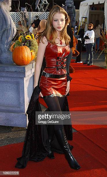Michelle Trachtenberg during The 9th Annual Dream Halloween Los Angeles Benefits The Children Affected By AIDS Foundation at Barker Hanger in Santa...