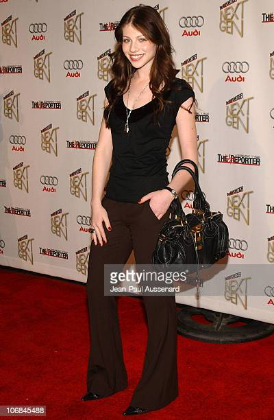 Michelle Trachtenberg during The Hollywood Reporter Next Generation Class of 2005 Presented by Audi Arrivals at Montmarte Lounge in Los Angeles...