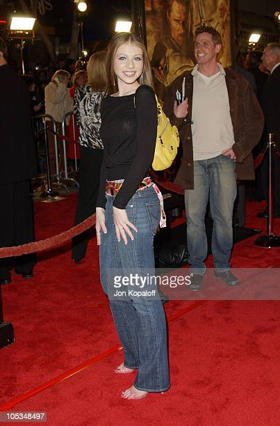 Michelle Trachtenberg during 'The Lord Of The Rings The Return Of The King' Los Angeles Premiere at The Mann Village Theatre in Westwood California...