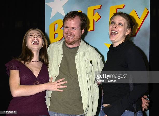 Michelle Trachtenberg Joss Whedon and Amber Benson