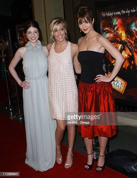 Michelle Trachtenberg Katie Cassidy and Mary Elizabeth Winstead