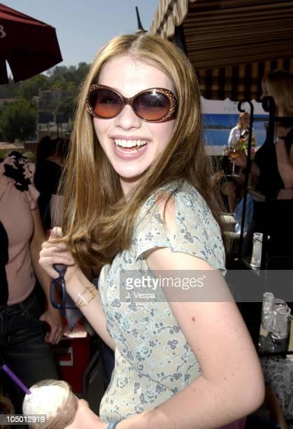 Michelle Trachtenberg wearing Fifi and Romeo sunglasses