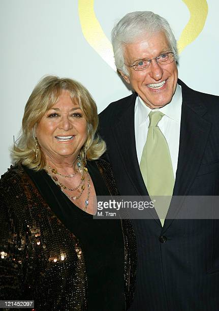 Michelle Triola and Dick Van Dyke during 2007 Golden Heart Awards at Midnight Mission in Los Angeles California United States