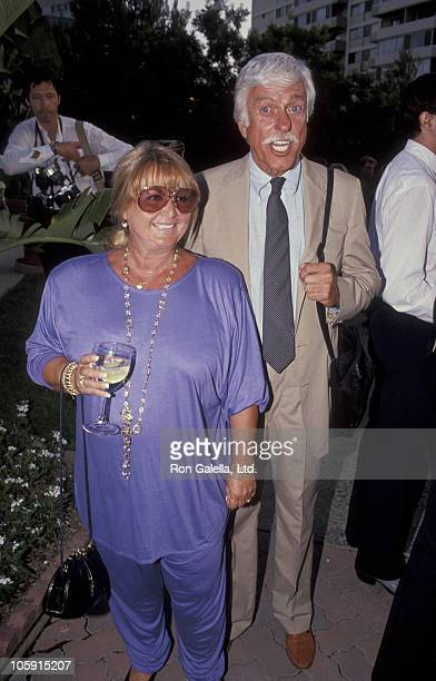Michelle Triola and Dick Van Dyke during 43rd Annual Emmy Awards PreEmmy Award Gala at Westwood Marquis Hotel in Westwood California United States