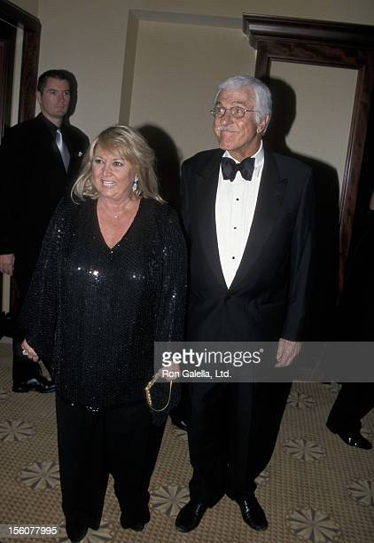Michelle Triola and Dick Van Dyke during 45th Annual Thalians Ball at Century Plaza Hotel in Los Angeles California United States