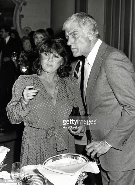 Michelle Triola and Dick Van Dyke during Party Celebrating Dick Van Dyke Show Anatomy of a Classic at Beverly Hills Hotel in Beverly Hills California...
