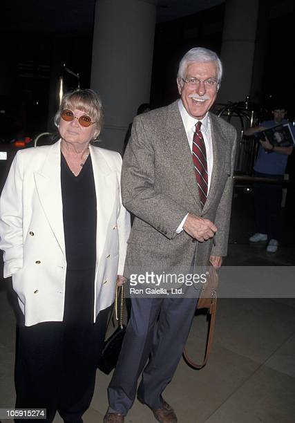 Michelle Triola and Dick Van Dyke during The 58th Annual Hollywood Woman's Press Club Annual Golden Apple Awards at Beverly Hilton Hotel in Beverly...