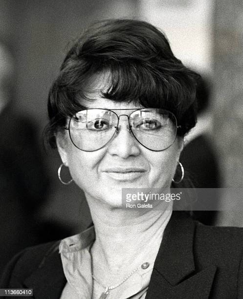 Michelle Triola during Triola vs Marvin Case at LA County Court House in Los Angeles California United States