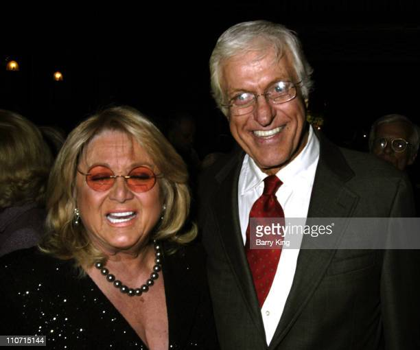 Michelle Van Dyke and Dick Van Dyke during The King and I Opening Night in Los Angeles Arrivals at Pantages Theatre in Hollywood California United...