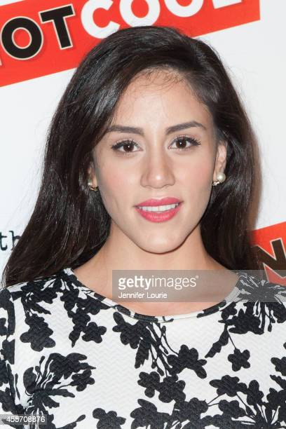 Michelle Veintimilla arrives at the Not Cool Los Angeles Premiere at the Landmark Theatre on September 18 2014 in Los Angeles California