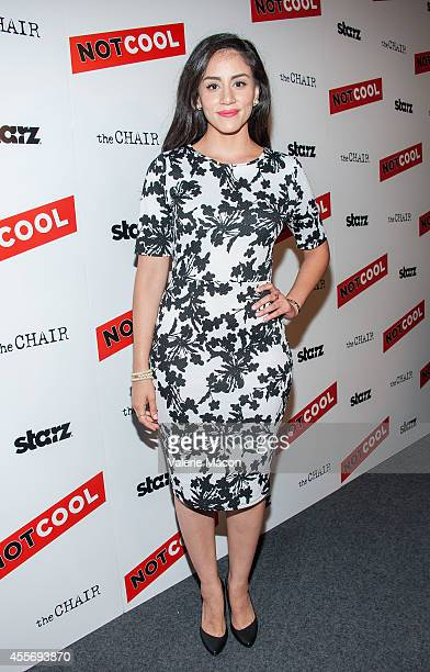 Michelle Veintimilla arrives at the Premiere Of Starz Digital Media's Not Cool at the Landmark Theater on September 18 2014 in Los Angeles California