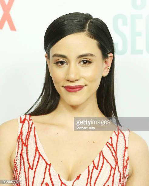 Michelle Veintimilla arrives to the Los Angeles premiere of Netflix's Seven Seconds held at The Paley Center for Media on February 23 2018 in Beverly...