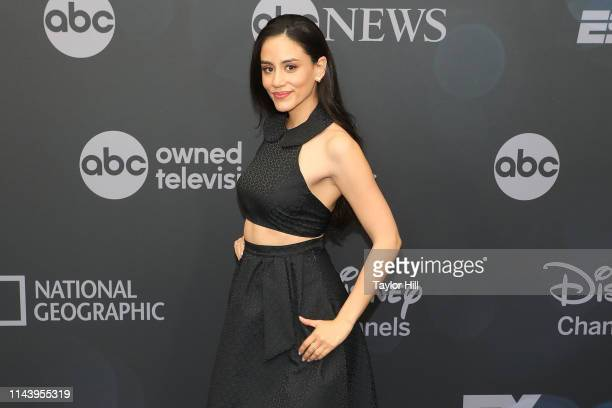Michelle Veintimilla attends the 2019 ABC Walt Disney Television Upfront at Tavern on the Green on May 14 2019 in New York City
