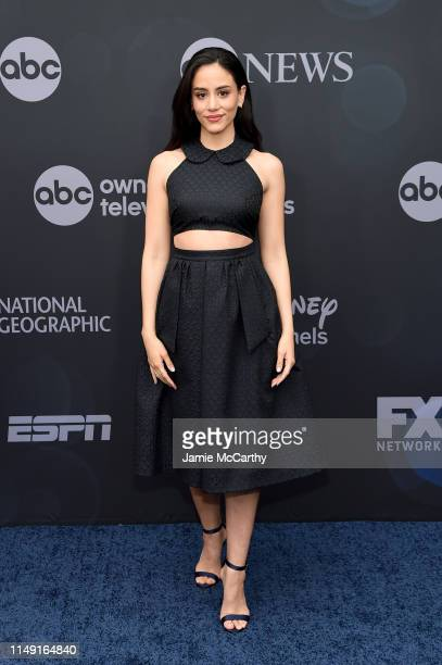 Michelle Veintimilla attends the ABC Walt Disney Television Upfront on May 14 2019 in New York City