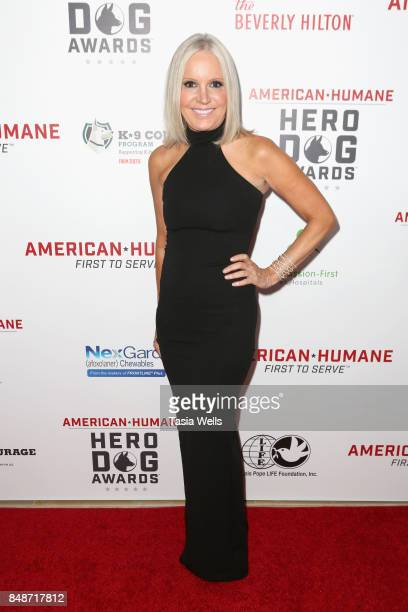 Michelle Vicary at the 7th Annual American Humane Association Hero Dog Awards at The Beverly Hilton Hotel on September 16 2017 in Beverly Hills...