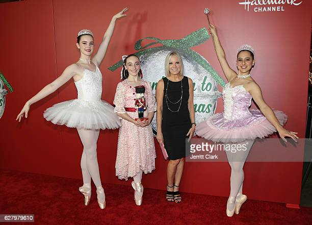 michelle vicary attends the screening of hallmark channels a nutcracker christmas at the grove
