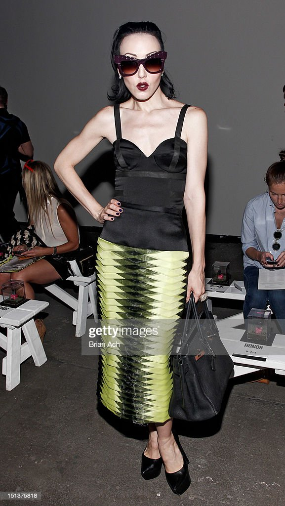 Honor - Front Row - Spring 2013 Mercedes-Benz Fashion Week