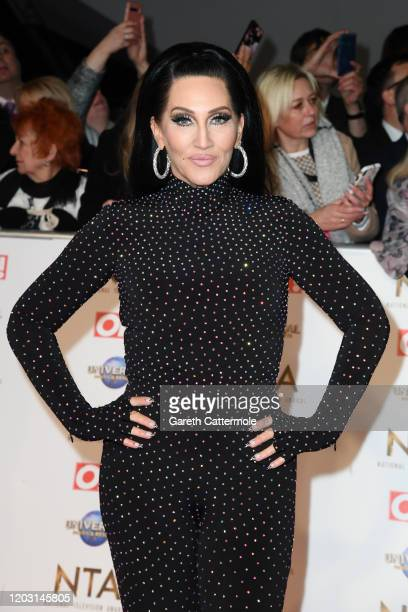 Michelle Visage attends the National Television Awards 2020 at The O2 Arena on January 28 2020 in London England