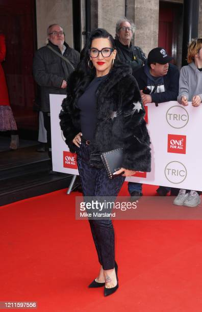 Michelle Visage attends the TRIC Awards 2020 at The Grosvenor House Hotel on March 10, 2020 in London, England.