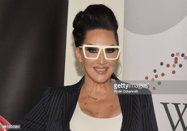 Michelle Visage poses for portrait at the Women in Entertainment and The Television Academy Foundation's Inaugural Women in Television Summit at...