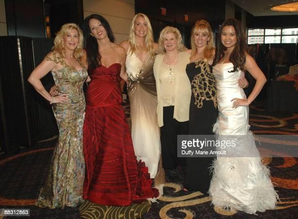 Michelle Walker, Emma Snowdon-Jones, Designer Kimberly Towers, Roberta Meadow, TV Personality Ramona Singer and Mina-Jacqueline Au attend the Little...