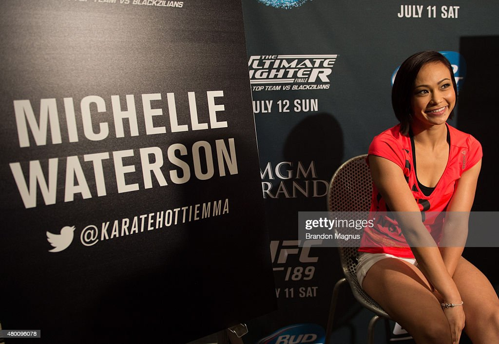 UFC 189 & TUF Finale Ultimate Media Day : News Photo