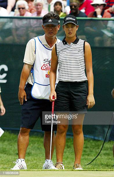 Michelle Wie during ShopRite LPGA Classic at Seaview Marriot Resort Spa in Galloway Township New Jersey United States