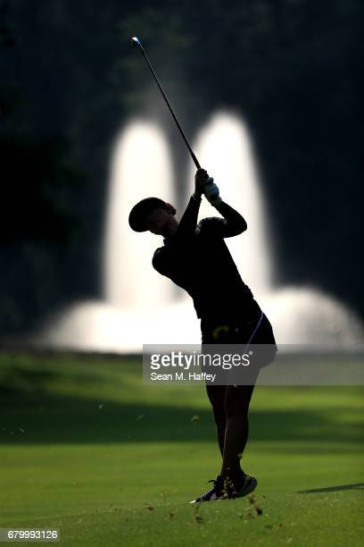 Michelle Wie of the United States hits a shot on the seventh fairway during the final round of the Citibanamex Lorena Ochoa Match Play Presented by...