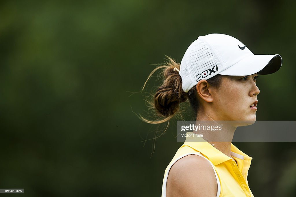 Michelle Wie of USA walks on the 12nd hole during day three of the Honda LPGA Thailand at Siam Country Club on February 23, 2013 in Chon Buri, Thailand.