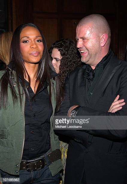 Michelle Williams and GStar founder Jos van Tilburg