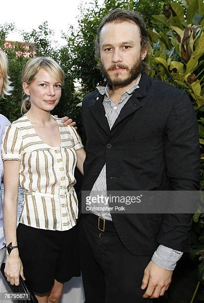 Michelle Williams and Heath Ledger **EXCLUSIVE**