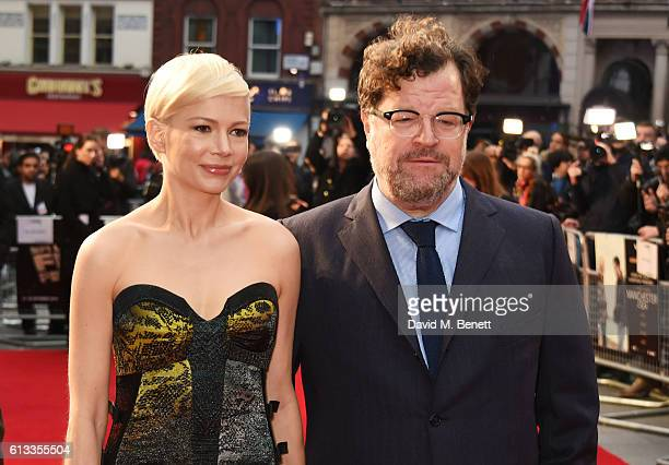 Michelle Williams and Kenneth Lonergan attend the 'Manchester By The Sea' International Premiere screening during the 60th BFI London Film Festival...