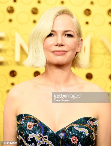 Michelle Williams arrives at the 71st Emmy Awards at Microsoft Theater on September 22 2019 in Los Angeles California