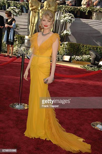 Michelle Williams Arrives At The 78th Academy Awards Held Kodak Theatre Dress