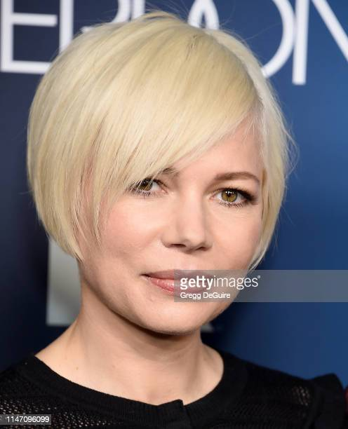 Michelle Williams arrives at the FYC Event For FX's Fosse/Verdon at Samuel Goldwyn Theater on May 30 2019 in Beverly Hills California