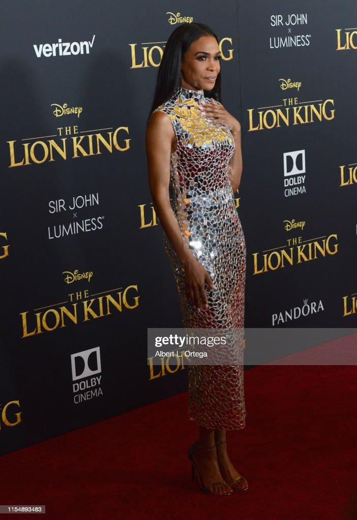 "Premiere Of Disney's ""The Lion King"" - Arrivals : Fotografía de noticias"