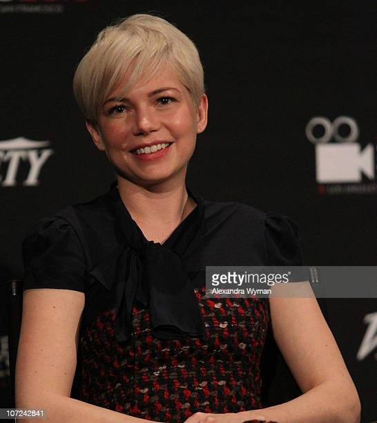 Michelle Williams at Variety's Los Angeles Screening Series of 'Blue Valentine' held at The ArcLight Cinemas on December 1 2010 in Hollywood...