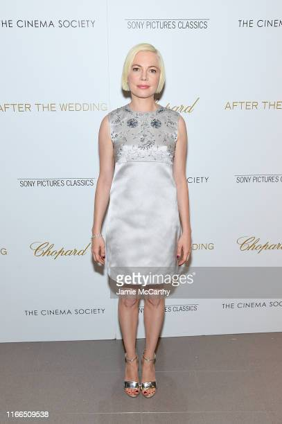 """Michelle Williams attends """"After The Wedding"""" New York Screeningat Regal Essex on August 06, 2019 in New York City."""