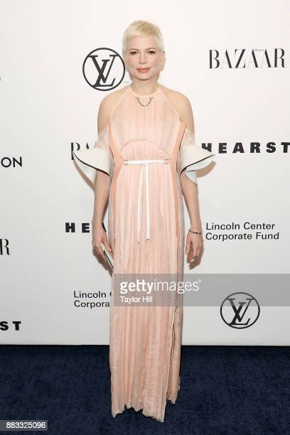 Michelle Williams attends 'An Evening Honoring Louis Vuitton And Nicolas Ghesquiere' at Alice Tully Hall at Lincoln Center on November 30 2017 in New...
