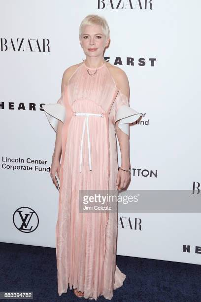 Michelle Williams attends An Evening Honoring Louis Vuitton and Nicolas Ghesquiere at Lincoln Center on November 30 2017 in New York City